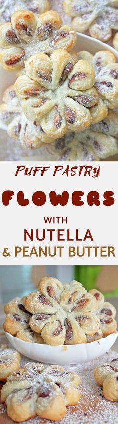 puff pastry flowers made with a handful of simple ingredients these stunning puff pastry - Italian Christmas Recipes