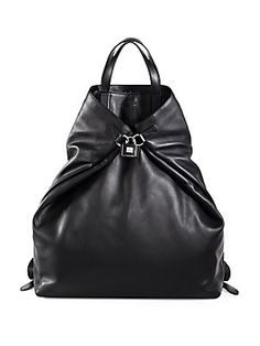 Gucci G-Active Large Leather Backpack