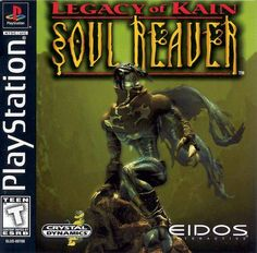 """""""Legacy of Kain: Soul Reaver"""" > 1999 > Playstation (PS1) > Action / Action Adventure"""