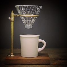 For more coffee inspirations from Japan visit www. Coffee Pour Over Stand, Brew Stand, V60 Coffee, Brewing, Coffee Maker, Japan, Instagram Posts, Coffee Maker Machine, Coffee Percolator