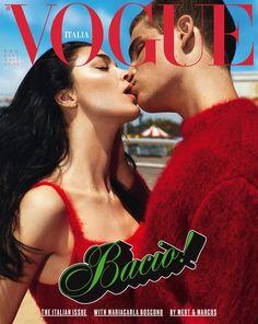 VOGUE ITALIA 2017 COVER BACIO!