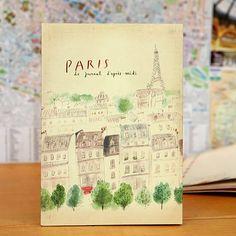 paris journal by fox and star | notonthehighstreet.com