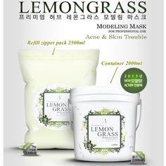 LEMONGRASS Refill 2500ml Masque Powder Professional Acne & Skin Trouble #Anskin
