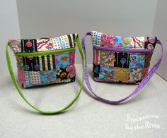 Quilted Patchwork Totes