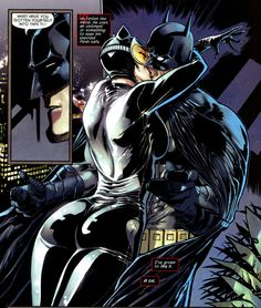 I've always loved the idea of Catwoman and Batman together :)