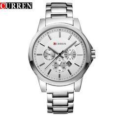 Top Brand CURREN Men's Watches Quartz Watch Men Clock Waterproof Luxury Military Sports Wrist watches relogio masculino 8129