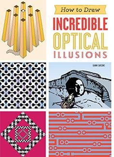 """For Either Budding or Seasoned Artists! Gianni A. Sarcone's beautiful and useful book """"How To Draw Incredible Optical Illusions"""" available on Amazon: https://www.amazon.com/gp/product/1623540607/?tag=archimelabpuz-20 #graphicdesigners #teachers #artists #artlovers #art #science #curious #giannisarcone"""