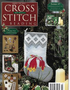 Issue 47 Strictly Christmas from Jill Oxton's Simply the Best Cross Stitch & Beading Magazine Cross Stitch Designs, Cross Stitch Patterns, Pocket Pal, Christmas Stockings, Christmas Ornaments, Baby Ducks, Family Outing, Wild And Free, Better Homes And Gardens