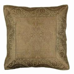 Christmas gift Handwoven silk cushion covers from India 40 x 40 cm: Amazon.de: Kitchen & Home