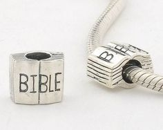 CLFJ116 925 Sterling Silver Bible Pandora Charms beads Jewelry on sale,for Cheap,wholesale