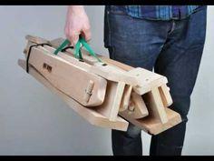 World's Best Folding Sawhorses ~ HideAHorse