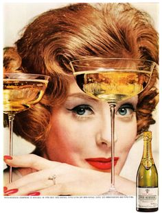 """I only drink champagne when I'm happy, and when I'm sad. Sometimes I drink it when I'm alone. When I have company, I consider it obligatory. I trifle with it if I am not hungry and drink it when I am. Otherwise I never touch it - unless I'm thirsty.""    - lily bollinger"