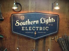 Electric Sign by Sideshow Sign Co. | Danthonia Designs Blog