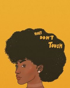 Afro, art, and yellow image Black Love Art, Black Girl Art, My Black Is Beautiful, Black Girl Magic, Art Girl, Black Girls, African American Art, African Art, Art Et Design