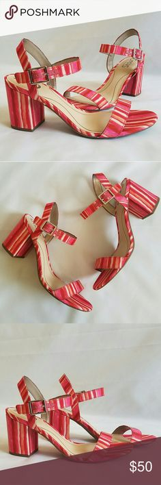NWOT Circus by Sam Edelman Ashton Sandals NWOT - 3 inch heel - Rubber Sole - Ankle strap Buckle closure Sam Edelman Shoes Sandals