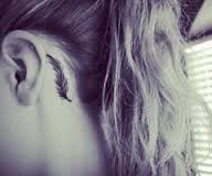 Hmmm maybe for my next tattoo, a behind the ear one... behind the ear tattoos - Google Search