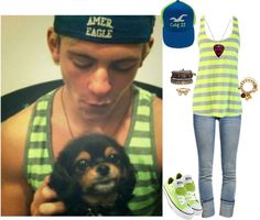 """Inspired by Ross Lynch 2"" by jordybell ❤ liked on Polyvore"