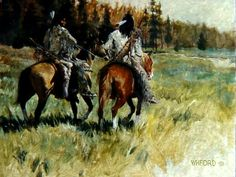 Hank Ford painting Native American Paintings, Native American Art, American Indians, Western Theme, Western Art, Le Far West, Wild West, New Mexico, Nativity