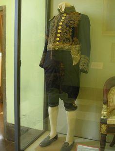 Vitrina Palacio de Aranjuez. Uniforme de gala de Fernando VII