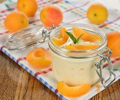Sobremesa levinha: creme de damascos - Lucilia Diniz