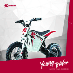 2016 Kuberg Young Rider,  All Electric Dirt Bike For Kids
