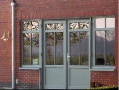 ral 7030 aluminium framed glazing - Google Search Ral Color Chart, Glass Porch, Grey Windows, Modern Front Door, Grey Doors, Aluminium Windows, Ral Colours, House Entrance, Grey Stone