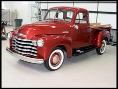 1952 Chevrolet 3100 Pickup 216 CI, 3-Speed presented as lot T151 at Indianapolis, IN