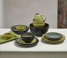 Jars Céramistes Collection Tourron, Tilleul - Samoa French charm for your table.