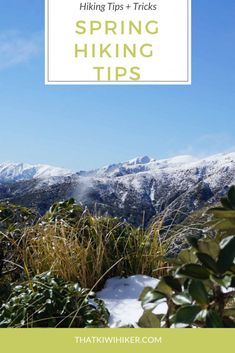 Spring is in the air and to celebrate here are some spring hiking tips to help you get outside and enjoy the warmer weather. Cheap Places To Travel, Hiking Essentials, Maputo, Hiking Tips, Outdoor Travel, Travel Posters, The Great Outdoors, Trekking, Kayaking
