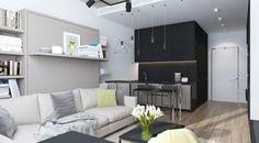 Kleine Wohnung Einrichten, Innendesign, Wohnen, Ideen, Leben In Kleiner  Wohnung, Schlafzimmer