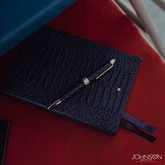 Buy luxury leather accessories from Johnson Watch Co. Montblanc Belt, Wallet, Covers and Cases. Luxury Pens, Pen Collection, Daily Journal, Leather Notebook, Writing Instruments, Sweet Memories, Leather Accessories, Watch Brands, Notes