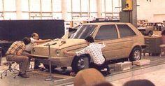 OG | 1974 Volkswagen / VW Golf Mk1 | Clay model