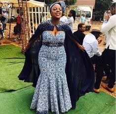 latest traditional dresses for black women – shweshwe - Lombn Sites Latest Traditional Dresses, African Traditional Wedding Dress, Traditional Dresses Designs, African Wedding Dress, Traditional Outfits, African Fashion Designers, African Print Fashion, African Prints, Latest Fashion Dresses