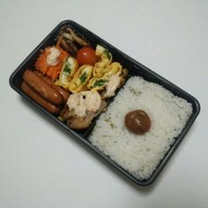 """@syunsui's photo: """"今日のオヤジ弁当は、豚肉のピカタ明太マヨネーズかけ+水菜入り玉子焼き弁当です。"""""""