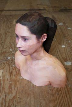 Artist Creates Realistic Portrait Sculptures Using Paper | The Creators Project