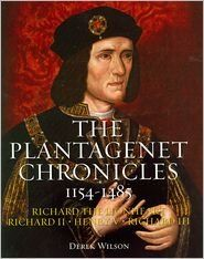 The Plantagenet Chronicles 1154-1485 (Richard the Lionheart, Richard II, Henry V, Richard III) by Derek Wilson,http://www.amazon.com/dp/B005YMG5Q2/ref=cm_sw_r_pi_dp_u0ybsb1YHA9WHR87