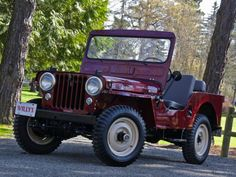 1951 Willys Jeep CJ-3A - real close to my Grandfather's. His was a '49 painted in green.
