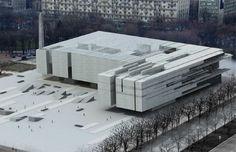 Museo de Arte Varsovia, architectural model, maqueta, modulo