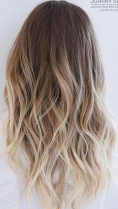 Hair colour.