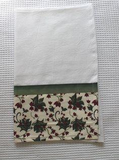 Pano De Prato Natal Dish Towels, Tea Towels, Quilting, Kitchen Towels, Floral, Crafts, Decorations, Home Decor, Sewing Ideas