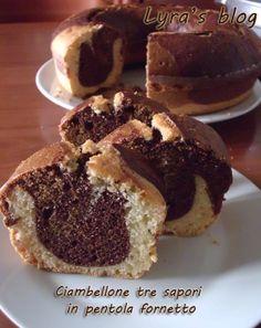 Momenti di zucchero: Ciambellone tre sapori, in pentola fornetto