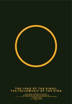 plakaty minimalistyczne drużyna pierścienia - Szukaj w Google