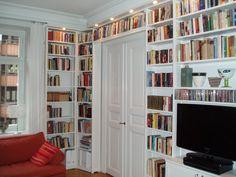 specialmått över dörr Bookcase, Shelves, Interior Design, Living Room, Bedroom, Google, Home Decor, Cases, Nest Design