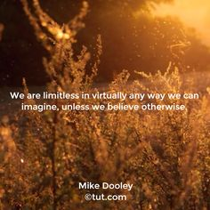 We are limitless in virtually any way we can imagine, unless we believe otherwise. Positive Inspiration, Spiritual Inspiration, The Secret, Mike Dooley, Jesus Loves Us, Believe, Song Lyrics Art, Gods Not Dead, Thinking Quotes