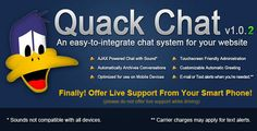 Quack Chat Live Chat System