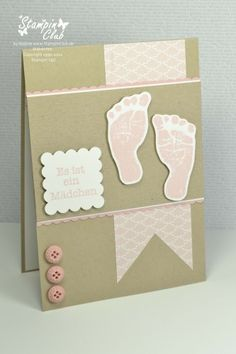 Baby prints  Stampin' Up!
