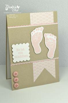 Baby prints  Stampin' Up!