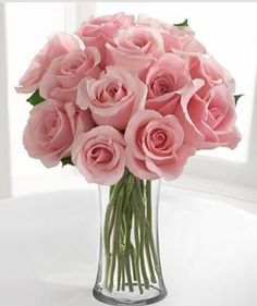Pink Roses = Sweetness, Grace, Joy, Admiration