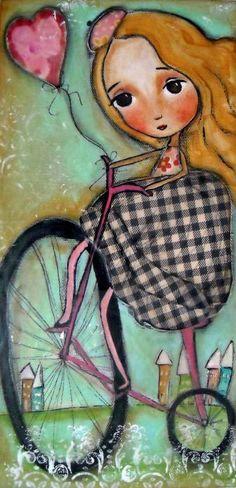 Wherever Love Takes Me Painting by Patti Ballard