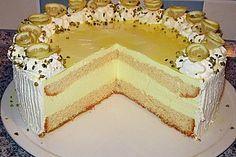 Zitronen - Joghurt - Torte